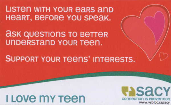 teen support groups online