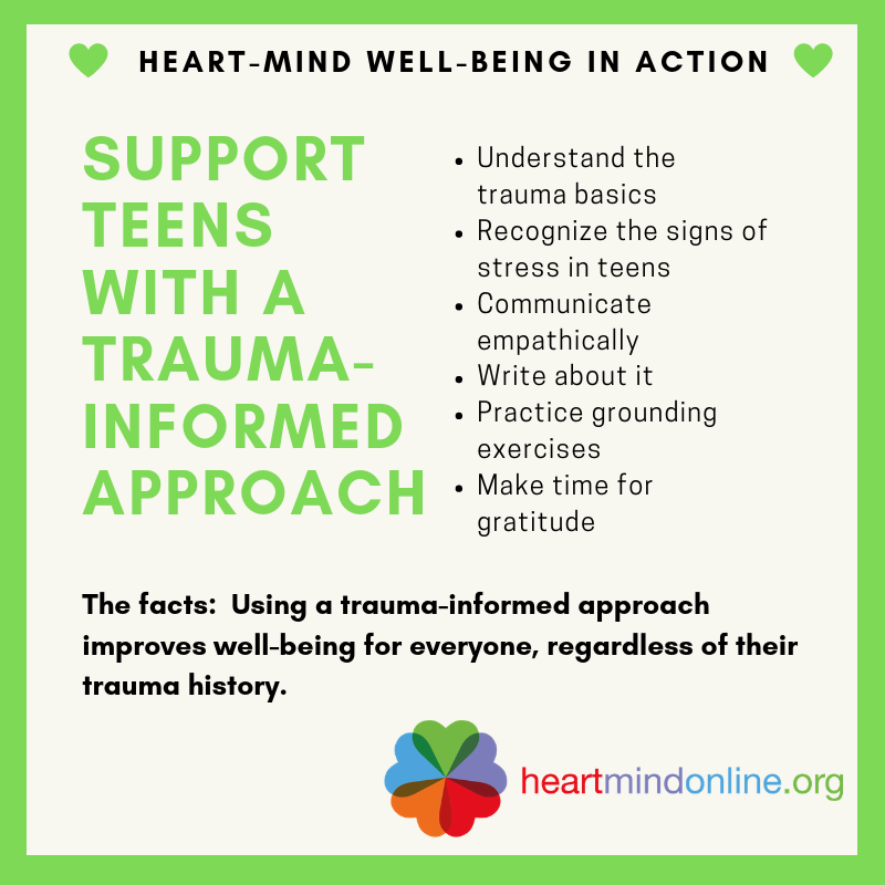 When Trauma Underlies Challenging >> Supporting Teens With A Trauma Informed Approach Heart Mind Online